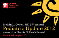 Pediatric Update 2012 Cover 2