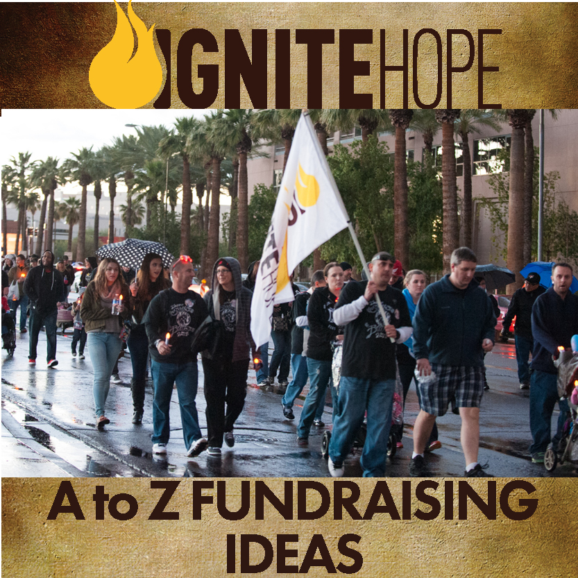 Ignite Hope A to Z Fundraising