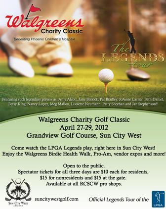 Walgreens Charity Classic Event Poster