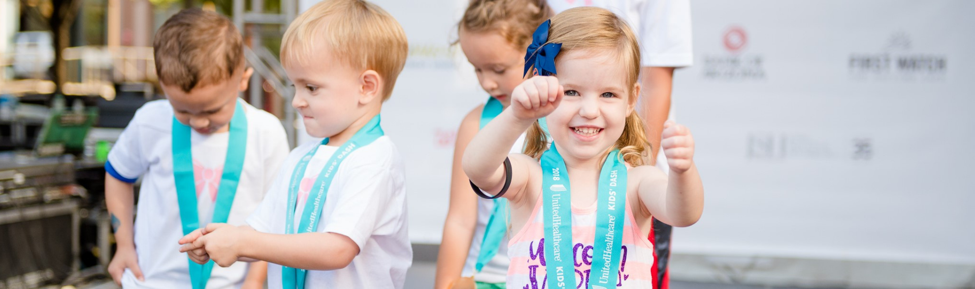 rev kids with medals to 2018 5k